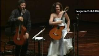 Beethoven-Moonlight Sonata-ATHENS MEGARON LIVE-Classical Guitars-E.Boudounis-M.Razi
