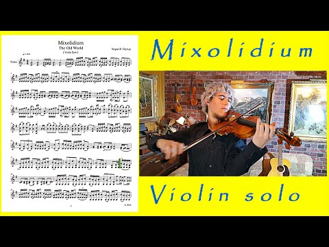 Violin Sheet Music - Mixolidium