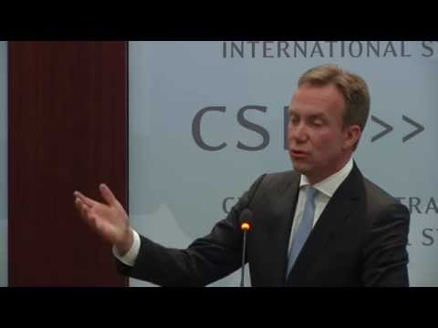 Børge Brende: Minister of Foreign Affairs, Norway