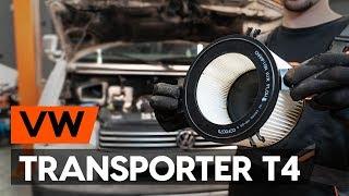 Išmontavimo Oro filtras, keleivio vieta VW - vaizdo vadovas