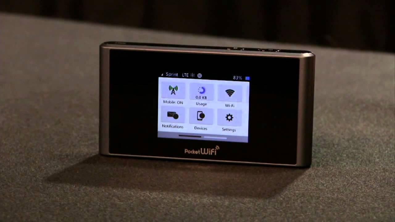 Sprint Pocket Wi-Fi Review