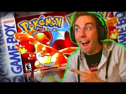 MIT FØRSTE POKÈMON SPIL   Pokemon Red #1
