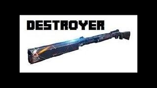 Truy Kích-Cầm Destroyer Đi Tàn Sát Zombie