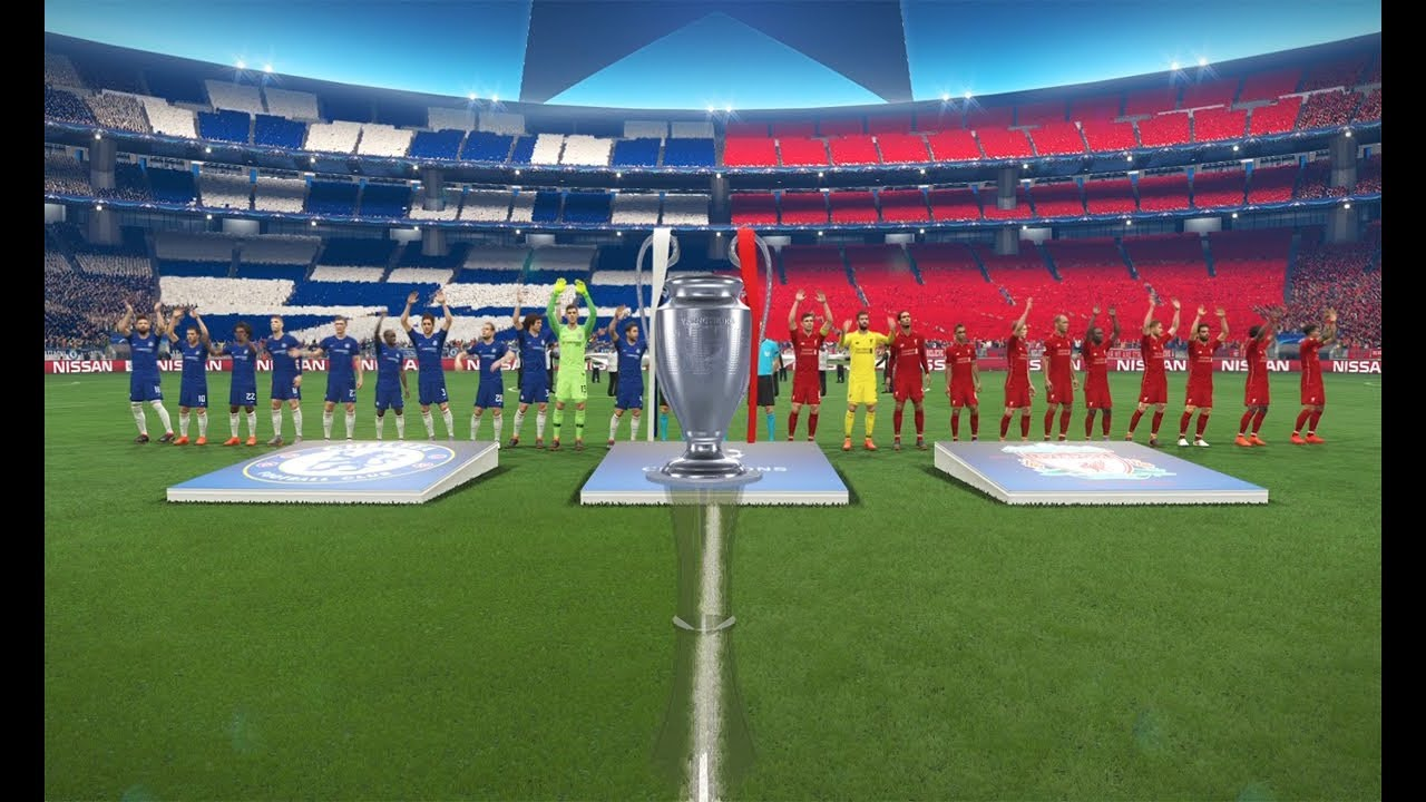 Chelsea vs Liverpool - Final UEFA Champion League | Gameplay PC