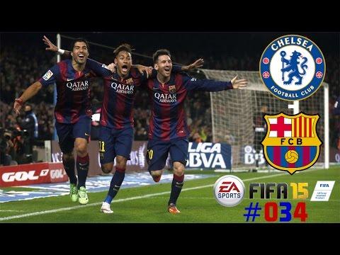 FIFA 15 CHAMPIONS LIGA #034 ► Chelsea Football Club - FC Barcelona | Let's Play