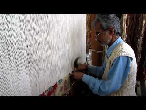 Learn about the previous step in the Rug Weaving process: Dyeing an Oriental Carpet ...