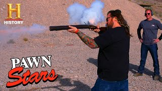 Pawn Stars: CRAZY EXPENSIVE SEVEN BARREL GUN (Season 13) | History