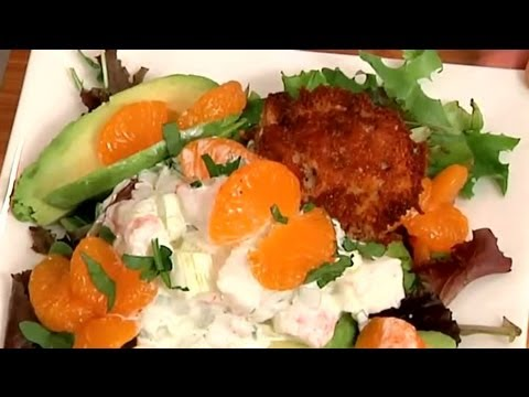 Lobster, Avocado & Citrus Salad : Shrimp & Seafood Salads