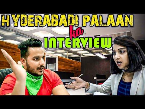 HYDERABADI PALAAN KA INTERVIEW || Hyderabad Diaries