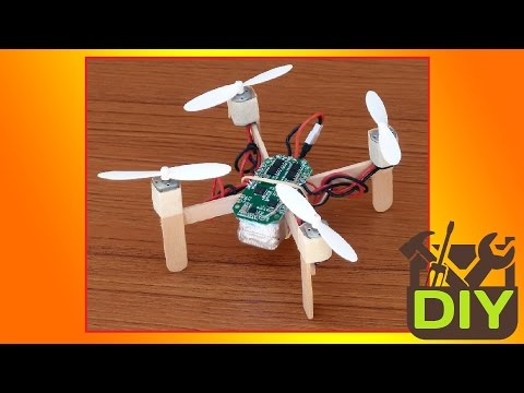 Thumbnail: █ How to make a Quadcopter at home █