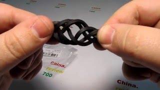 Кожаный браслет - распаковка и обзор #123