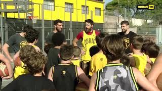 Entrenamiento Minibásquet - Obras Basket (27-11-2017)
