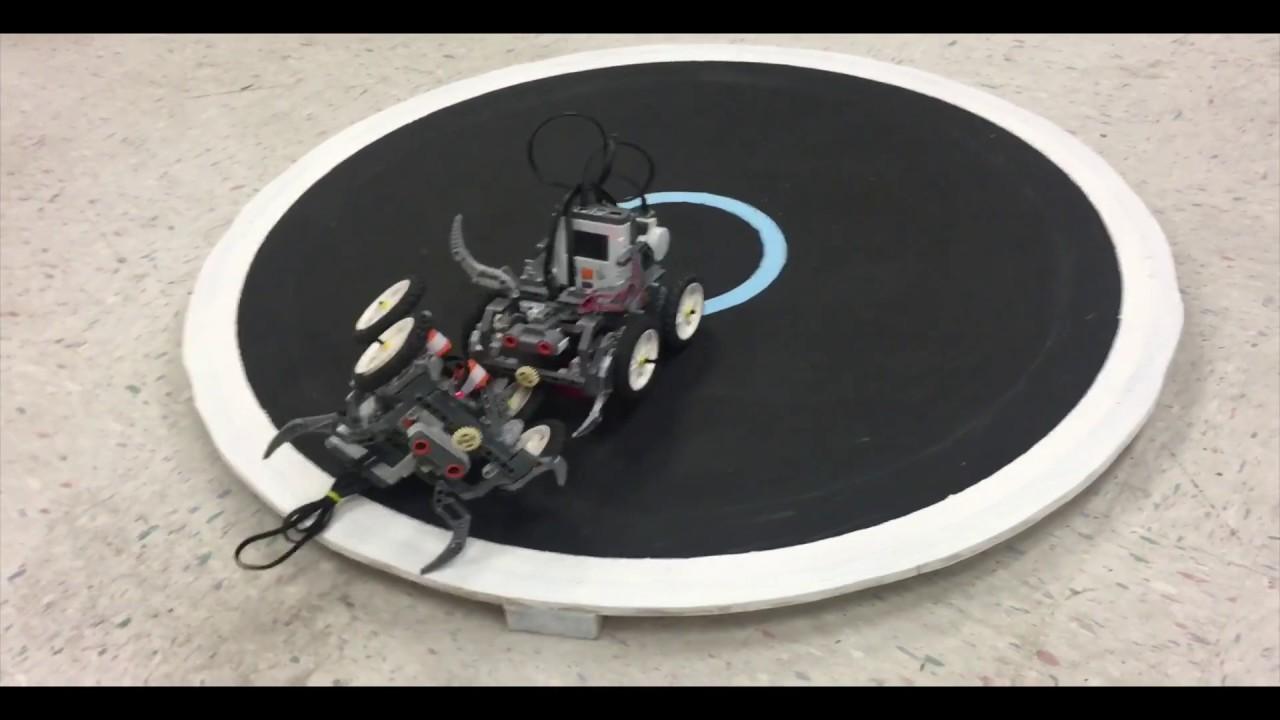 RoboSumo Lab 10 - Intro To Robotics Spring'17