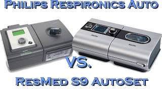 ResMed Autoset Vs  Philips Respironics APAP.  Best CPAP Machine