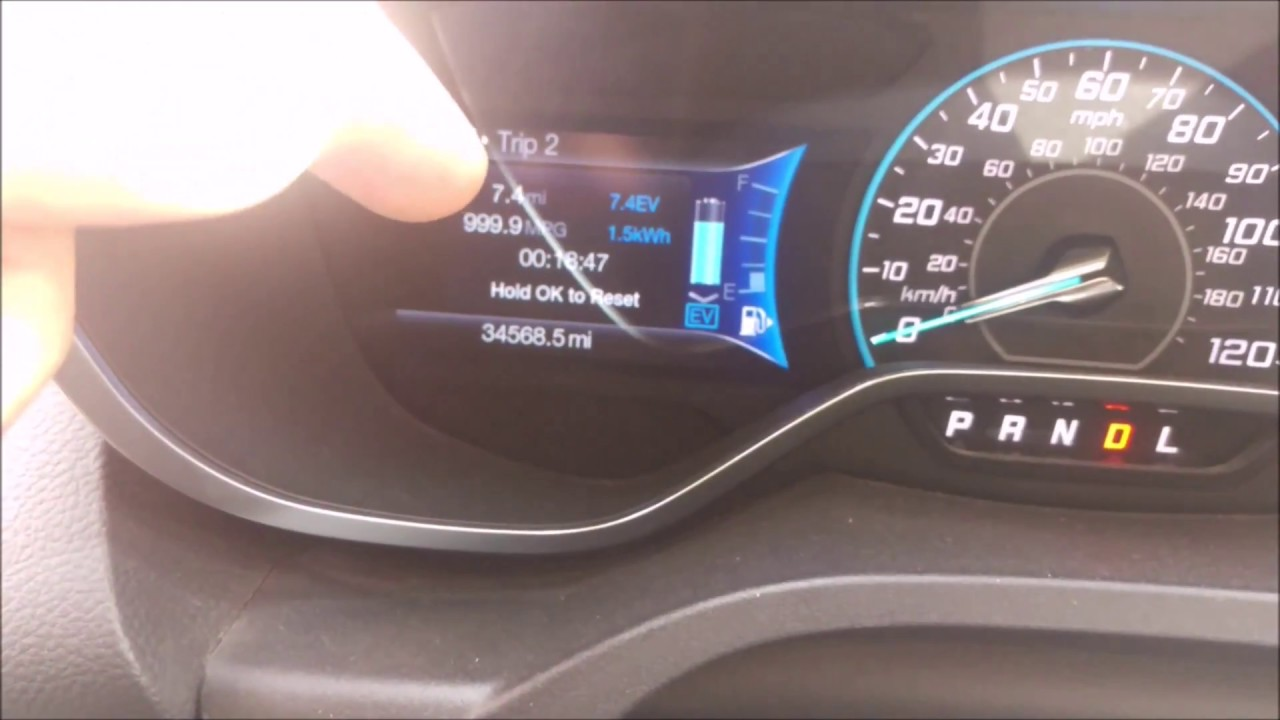 Ford C Max Energi Ev Mode Only Range Efficiency