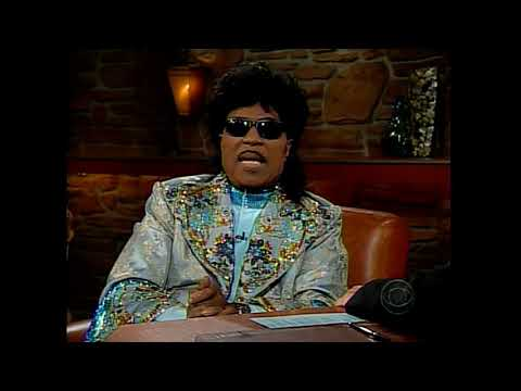 Little Richard - interview by Craig Ferguson LATE LATE SHOW 1/12/05 part 1 of 2