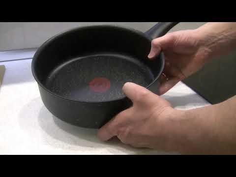 Tefal Everest алюминиевая сковорода (сотейник) 24 см. для индукционной плиты. Обзор перед покупкой.