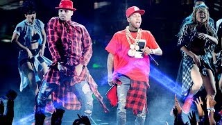 "Chris Brown Surprise ""Loyal"" Performance BET Awards 2014"