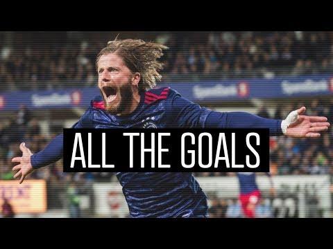 ALL THE GOALS - Lasse Schöne | The Free Kick Master