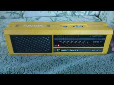 Radiotehnika Абава РП-8330
