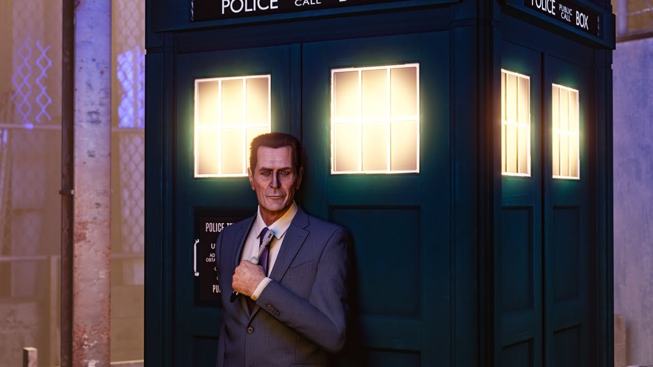 Introducing THE GMAN as the Next Doctor [S2FM]