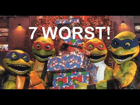 The Seven Worst Christmas Specials Ever! - YouTube