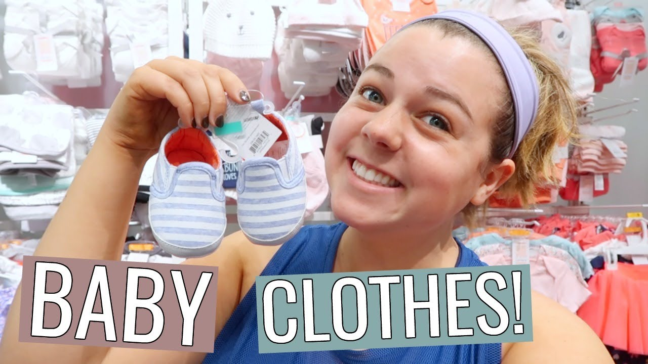 Shopping for Baby Clothes!! - YouTube