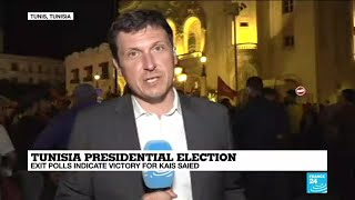 Tunisia Presidential election: Exit polls indicate victory for Kais Saied
