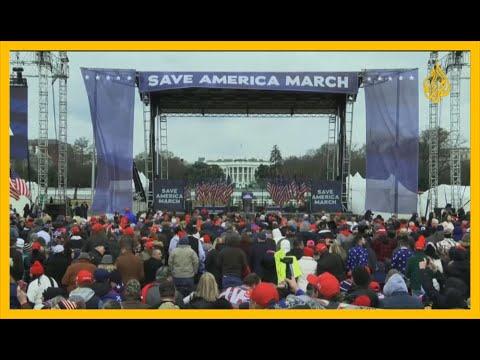 شاهد | الآلاف من أنصار ترمب يتظاهرون في واشنطن رفضا لنتائج الانتخابات