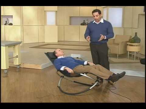 Great ORBITAL LOUNGER On QVC DEMO TAPE