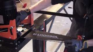 E8 Speed Saw | New Stronger Electric Saw for High-Efficiency Log Sawing | LOGOSOL