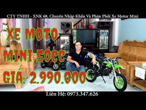 👉👉👉 Xe Moto Mini Sport 50cc - Xe Cào Cào Mini 50cc Giá Rẻ I ☎️ :0973347626
