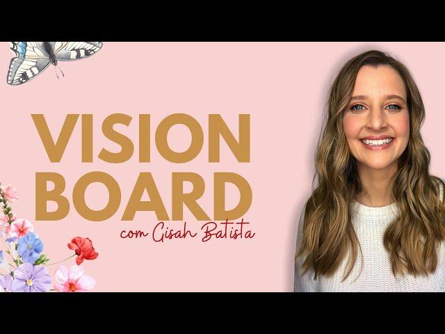 Faça seu Vision Board Profético!