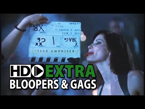 Resident Evil: Apocalypse 2004 Bloopers Outtakes Gag Reel