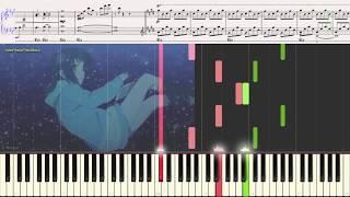 Two Sided Feelings OST Nagi No Asukara Ноты и Видеоурок для фортепиано Piano Cover
