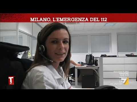 Coronavirus: Milano, l'emergenza del 112