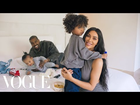 73 Questions With Kim Kardashian West (ft. Kanye West) | Vog