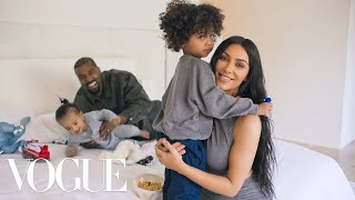 73 Questions With Kim Kardashian West (ft. Kanye West)  Vogue