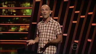 Carl Barron live stand up on ROVE (2009)