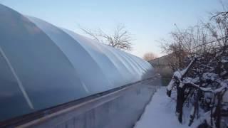 видео Отопление теплицы