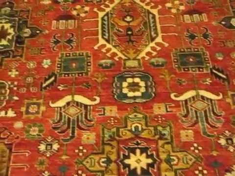 Afghan Tribal Rug in Antique Karadja Design from ParadiseYouTube