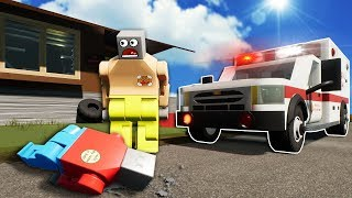 IDIOTS OPEN A HOSPITAL IN LEGO CITY! - Brick Rigs Roleplay Gameplay - Lego Jobs Movie