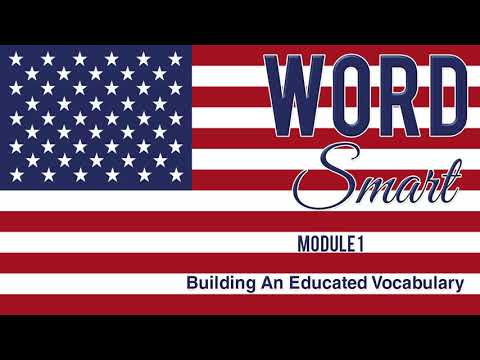 Word Smart Vocabulary Building - Part 1