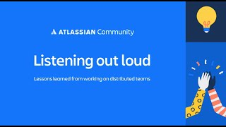 Listening out loud: distributed teamwork + Dave Liao