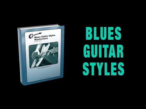 Blues Guitar Styles - Masterclass eBook