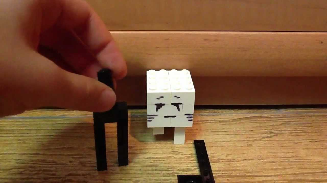 Lego Minecraft How To Build Enderman And Ghast YouTube