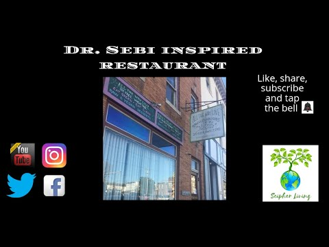 DR. SEBI INSPIRED RAW VEGAN RESTAURANT IN PHILADELPHIA ON VIDEO