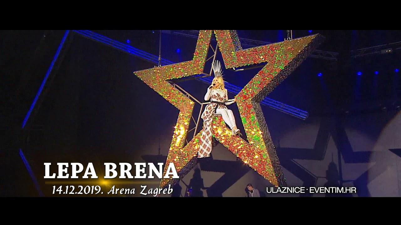 Lepa Brena 14 12 2019 Arena Zagreb Reklama 2 Youtube