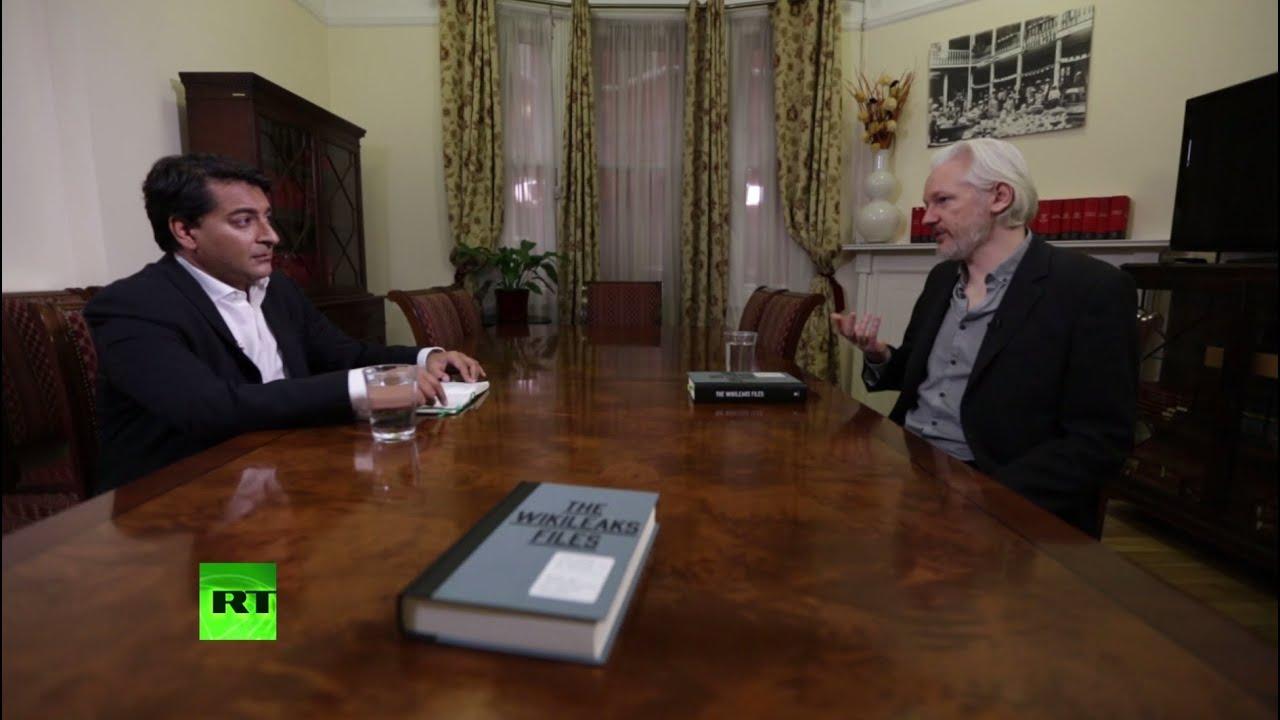 Вышла в свет новая книга Джулиана Ассанжа о тайнах внешней политики США