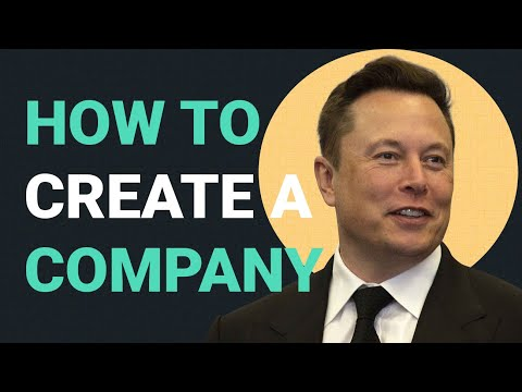 How to Create a Company | Elon Musk's 5 Rules